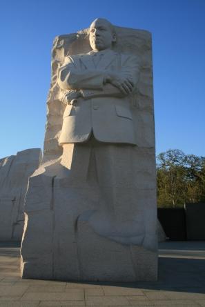 MLK-Statue
